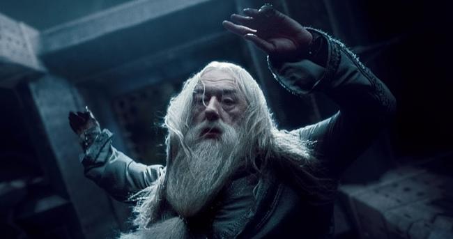 dumbledore-olurken