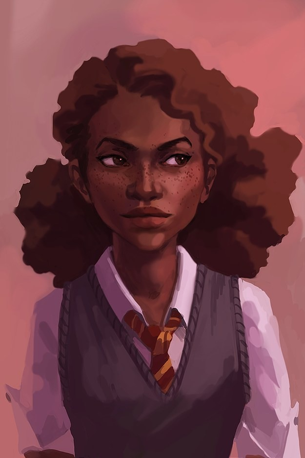 Hermione illustration