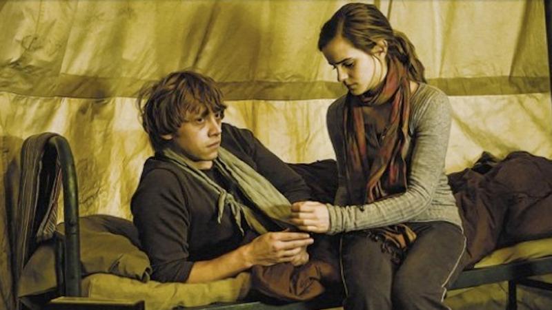 Hermione Granger - Ron Weasley