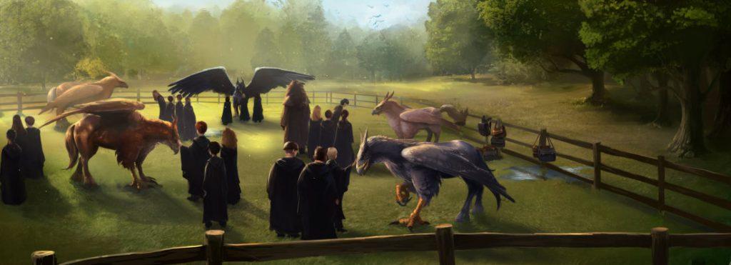 Hippogriff_HagridInCareOfMagicalCreatures