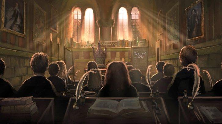 hogwarts ders