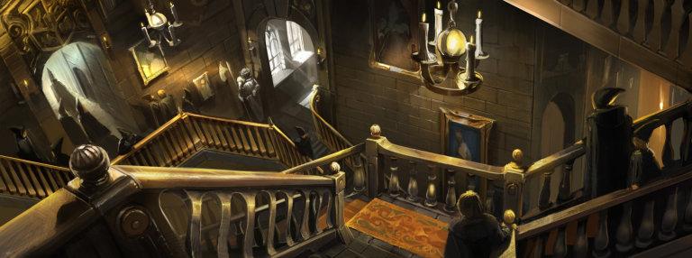 hogwarts merdivenler