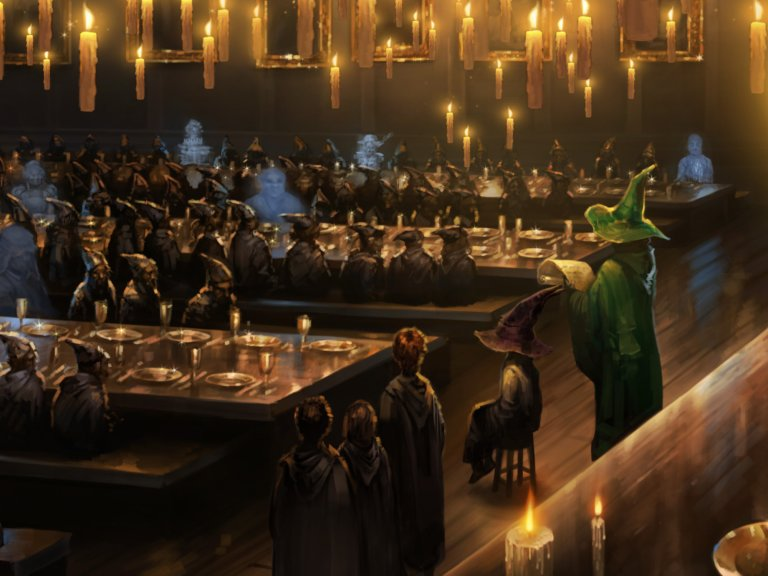 seçme töreni hogwarts