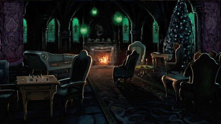 Slytherin-Ortak-Salon