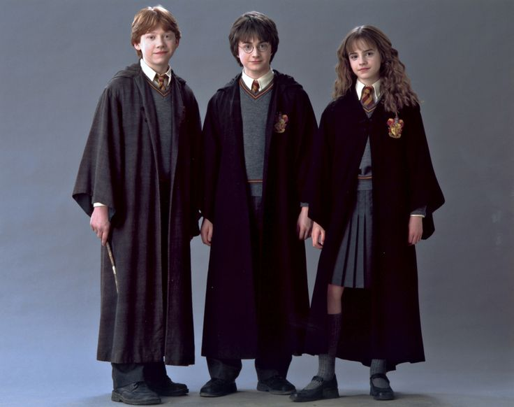 harry hermione ron cubbe