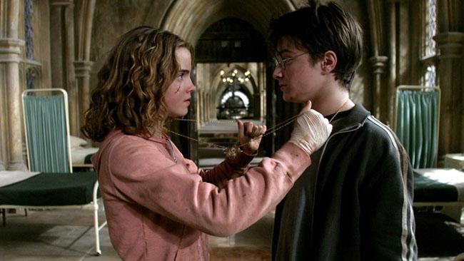 harry hermione zaman dondurucu