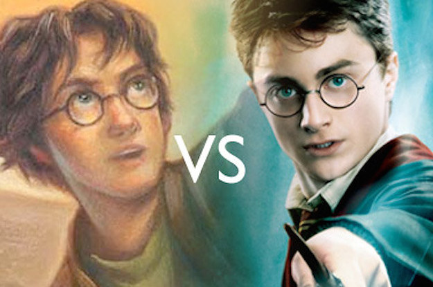 harry potter filmler vs kitaplar