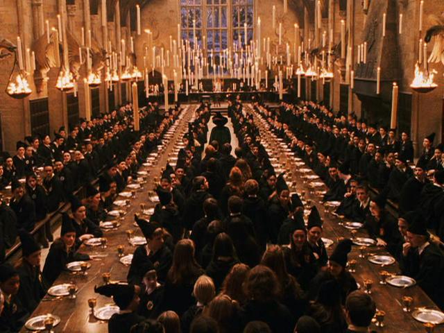 hogwarts buyuk salon