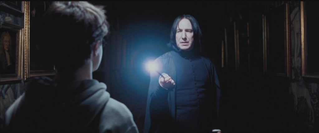 snape harry lumos