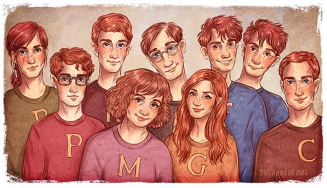 weasley-ailesi-illu