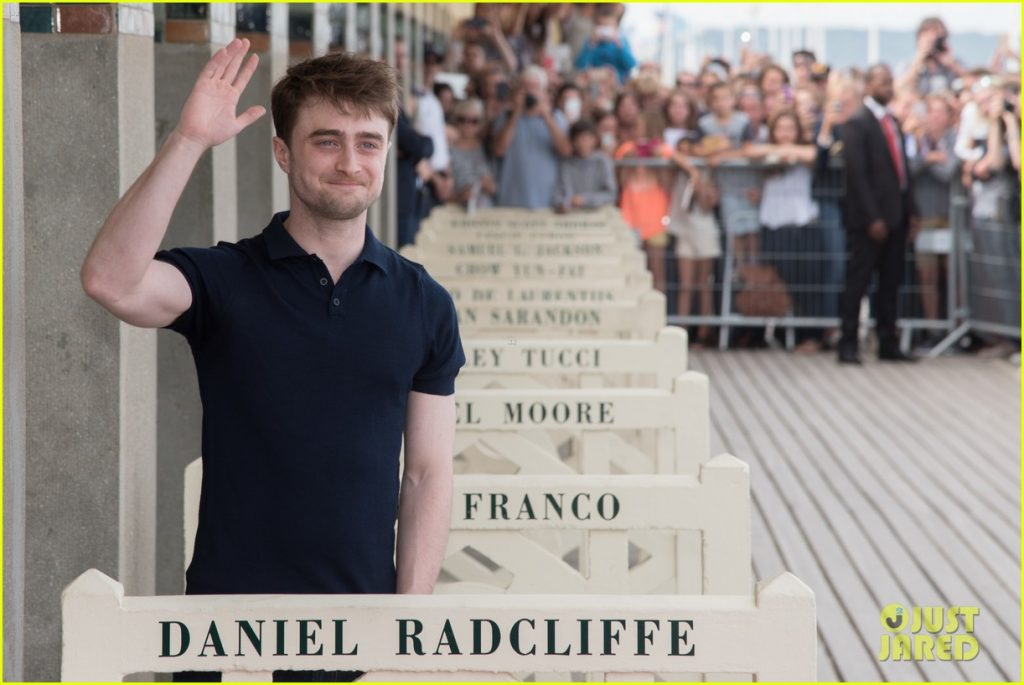 Daniel Radcliffe Honoured At The 42nd Deauville American Film Festival