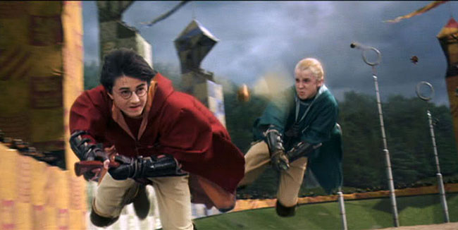 harry draco Quidditch