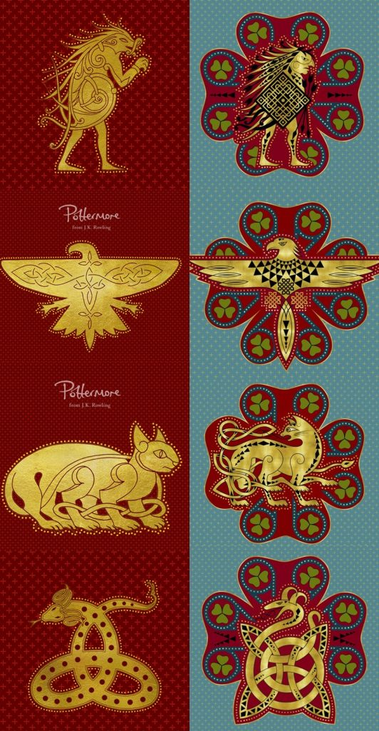 Pottermore Yeni İlvermorny Logoları