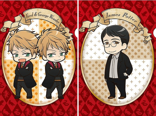 fred-geore-weasley-james-potter-anime