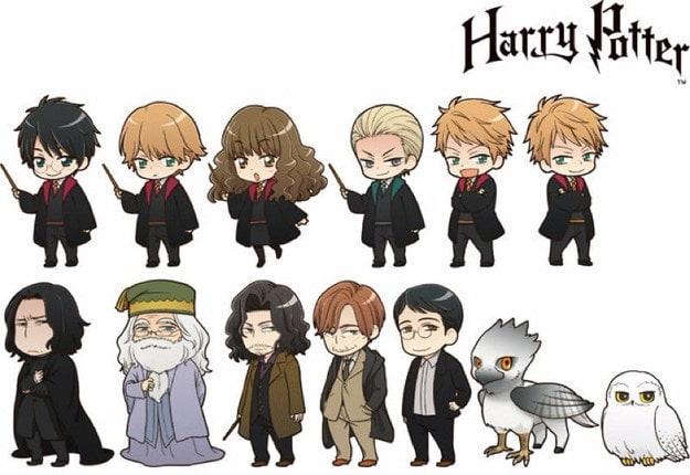 harry-potter-anime-karakterleri